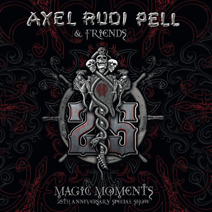 AXEL RUDI PELL Magic Moments -25th Anniversary Special Show  cover