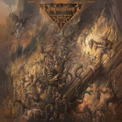 INQUISITION - Nefarious Dismal Orations cover