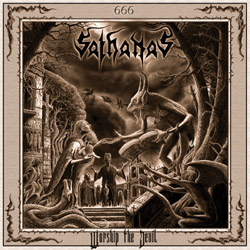 SATHANAS - Worship the Devil cover