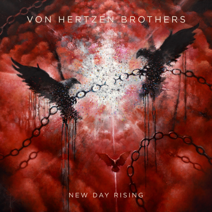 VON HERTZEN BROTHERS - New Day Rising cover