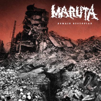 MARUTA - Remain Dystopian cover