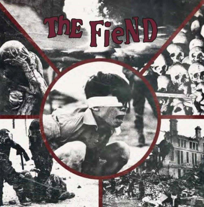 THE FIEND - Greed Power Religion War cover