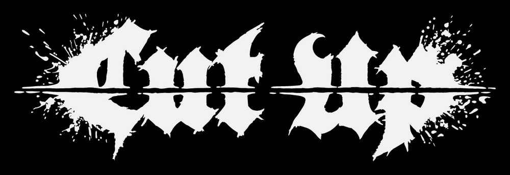 Cut Up logo_white on black