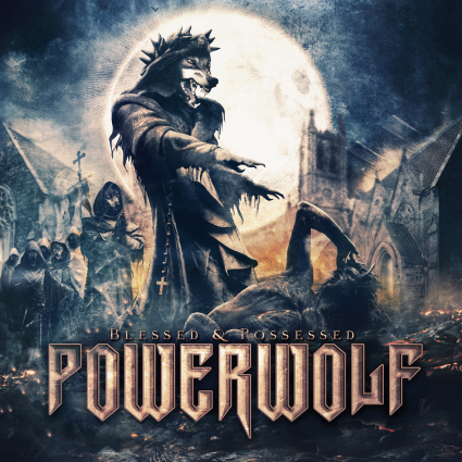 POWERWOLF Blessed & Possessed  cover