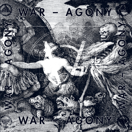 GRIM VISION - War Agony ep cover