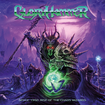 GLORYHAMMER - Space 1992 Rise of the Chaos Wizards cover