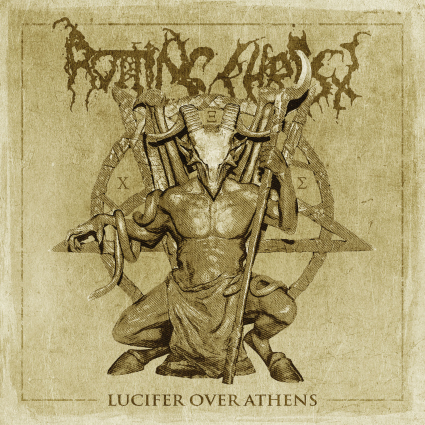 ROTTING CHRIST Lucifer Over Athens  cover