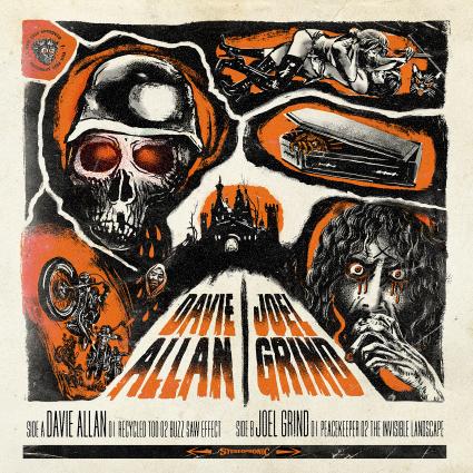 DAVIE ALLAN  JOEL GRIND Split  cover