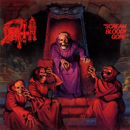 DEATH - Scream Bloody Gore cover