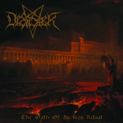 DESASTER - The Oath of an Iron Ritual cover