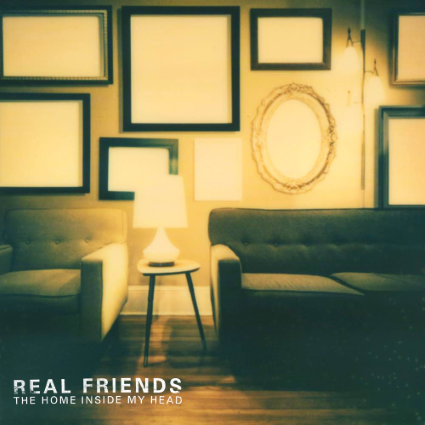 REAL FRIENDS - The Home Inside My Head cover