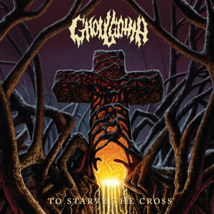 GHOULGOTHA - To Starve the Cross cover