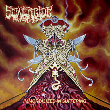 Sewercide Immortalized in Suffering  cover