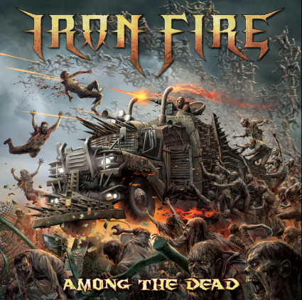 IRON FIRE - Among the Dead cover