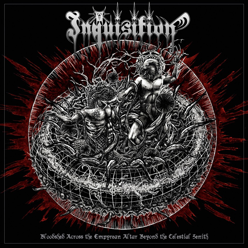 inquisition Bloodshed Across The Empyrean Altar Beyond The Celestial Zenith cover