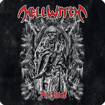 HELLWITCH - At Rest ep cover