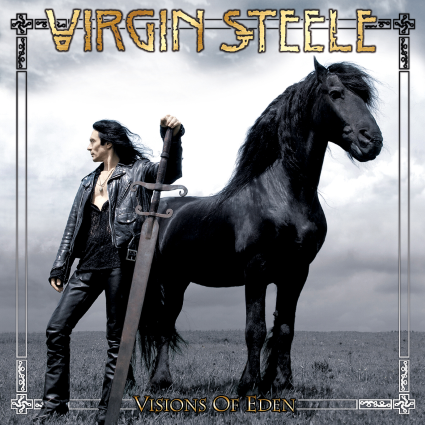 VIRGIN STEELE Visions of Eden reissue cover