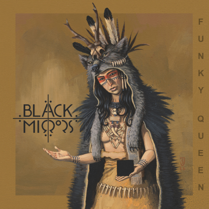black mirrors funky queen ep cover